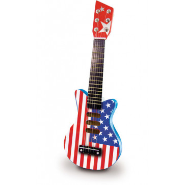 Vilac - Rock Guitar - American Flag