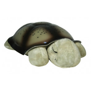 Cloud b® - Natlampe Til Børn - Classic Twilight Turtle - Mocha