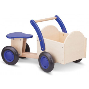 New Classic Toys - Blå/Natur Ladcykel